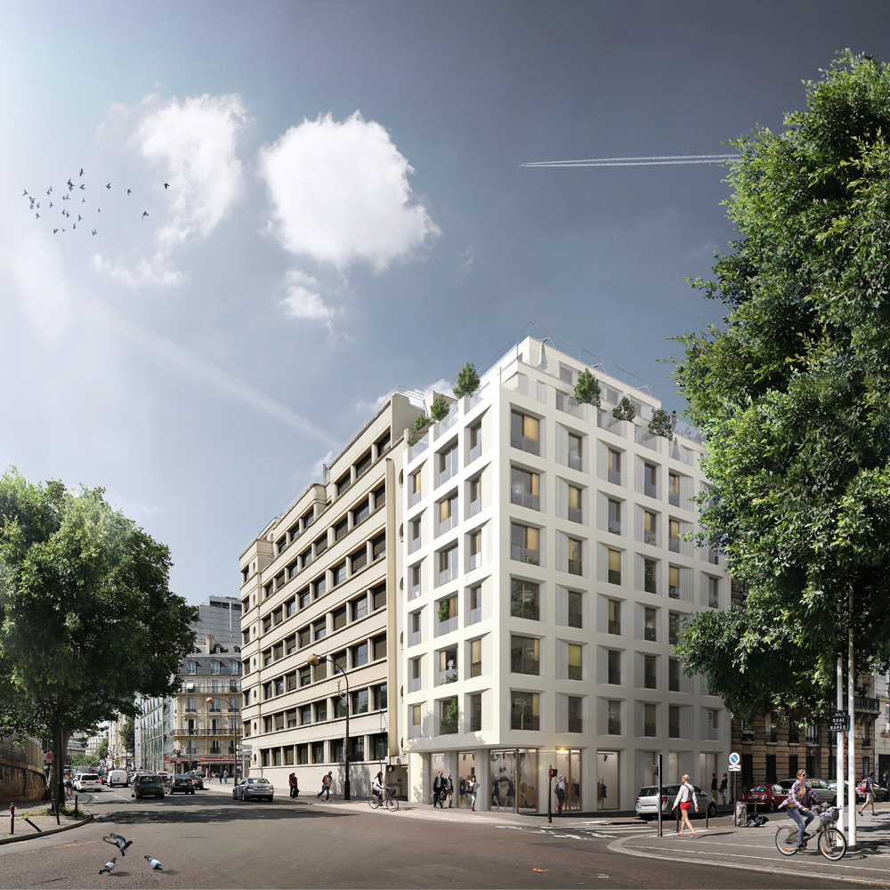 14 logements RIVP Paris 12e - msr architecture